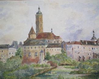 Adolf Hitler painting