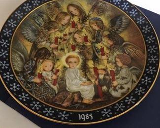 1985 Christmas Plate