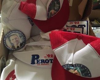 Ross Perot President Items