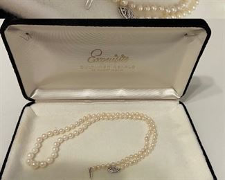 Pearls 14Kt Gold Clasp