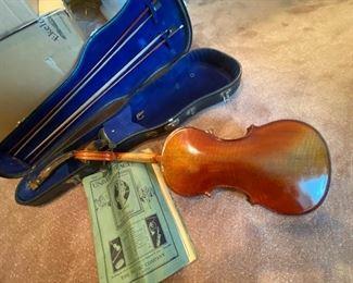 Two Antique Violins