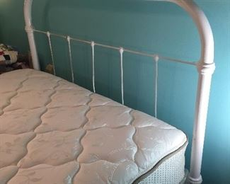 Antique Iron Bed full size