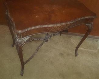 4. ANTIQUE TABLE $20
