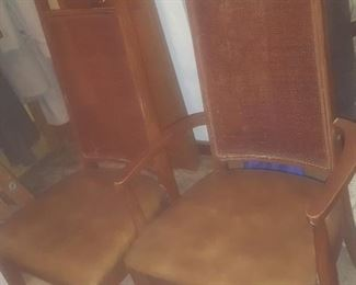 2 OF DINING ROOM CHAIRS