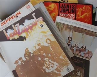 Rock books and music