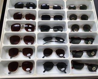 Lots of new sunglasses