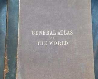 1859 Black's General Atlas of the World
