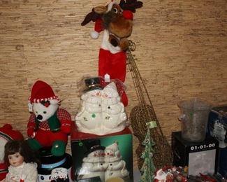 Stuffed and decorative Christmas
