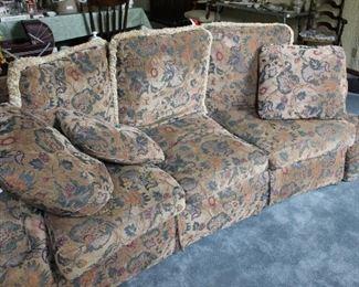 Plush sofa, very inexpensive but nice