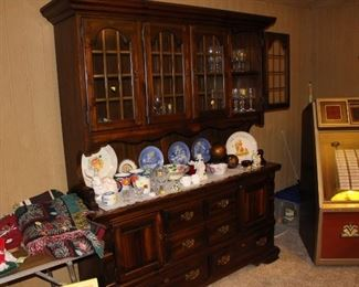 The second china cabinet