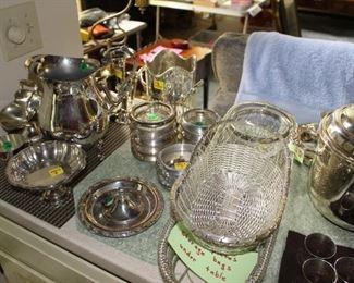 Silverplate items