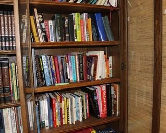 Cookbooks, self help books, historical