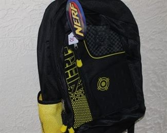 Nerf backpack, new