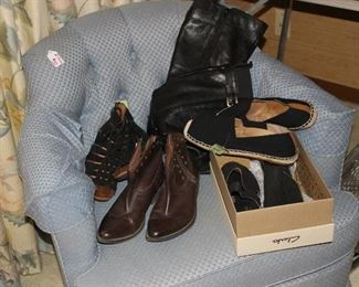 New group of shoes and boots