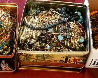 Loads of costume jewelry!