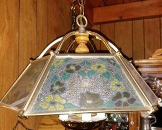 $75 - Vintage swag lamp