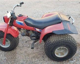 Honda 110 3-wheeler ~ Model: ATC 110 ~ Runs