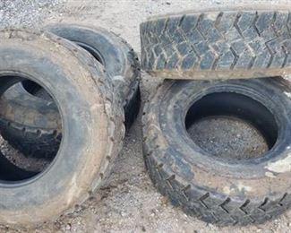 Set of 4 Titan Trac Loader Tires ~ 12 - 16.5NH5