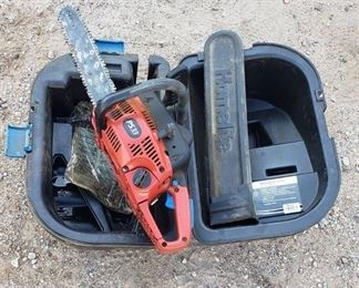 Homelite PS33 ~ 16 in. Chainsaw ~ has compression and Case