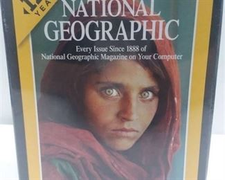 Complete National Geographic Every Issue on DVD Since 1888 New In Package