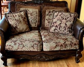 matching loveseat.  Great condition