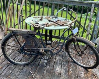 #3Vintage Wards Hawthorne Girl's Bicycle$150