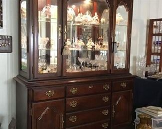 Kendall lighted China Cabinet
