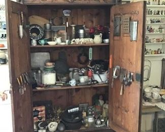 Collection of Vintage Kitchenware