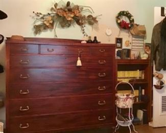 Fabulous over sized Antique Chest