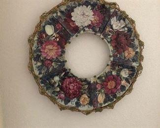 Bradford Exchange Eternal Beauty Wreath (panorama) Glynda Turley, artist