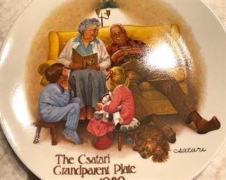 KnowlesCsatari Grandparents - complete series (8) in boxes w/certificates