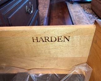 "Harden cupboard, 52"" wide 18"" deep 34.75"" high"