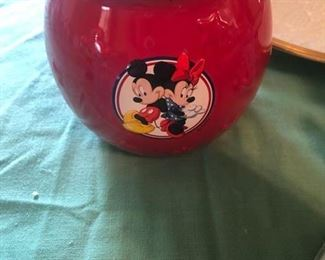 Mickey Mouse jar
