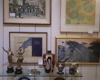 Art Lithographs and Collectibles