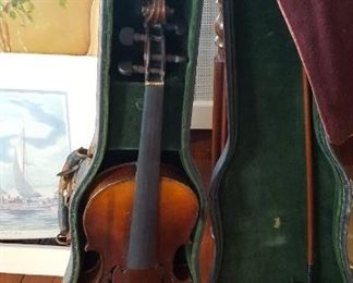 Antique Hopf Violin with bow & case