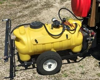 Tow Behind Lawn Sprayer