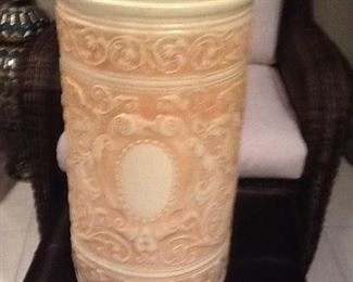 "Weller         Large Pottery Piece      25""Tall          $225."