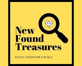 LET US  conduct your SALE        NewFound Treasures does it All !   We research your items, appraise, price, list and set-up your sale.         If needed we leave rooms BROOM CLEAN.     Call us for more info  630-667-1090