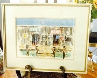 WaterColor    Original Art       known Artist         $650.