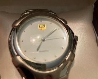Tag Heuer  Men's Watch    Like New.       With box                  $ 750.