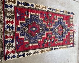 Large Persian Runner.    Great colors!      3.6'. X 7.10'.     $ 695.