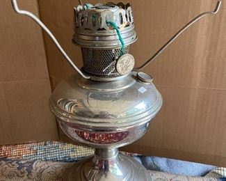 Old Oil  lamp.      $50.