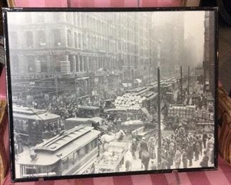 Old Antique  Chicago Picture       16 x 20.        $150.