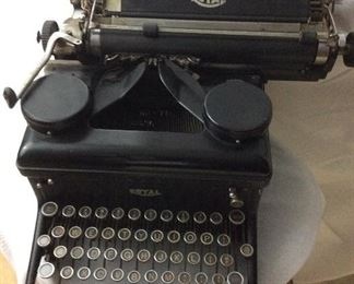 Old Antique Type writer.       $150