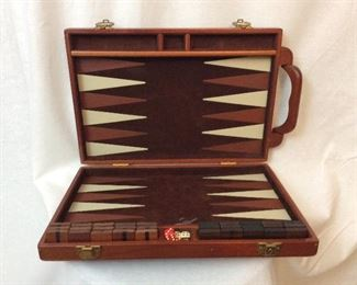 Backgammon set.        $50.