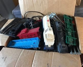 Box full of trains* tracks *engines*transformer,  Etc.        $125.