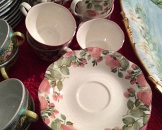 Franciscan China   Cups & Saucers      Set of 8      $100.