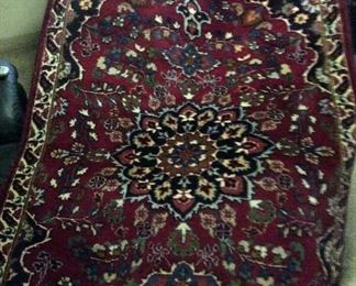 Mashad   Persian Rug      4.5' x  6 ft           $350.