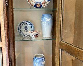 Pair of Copenhagen Vases