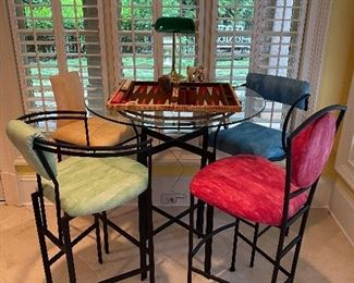 Decorative Bar Table & Chairs